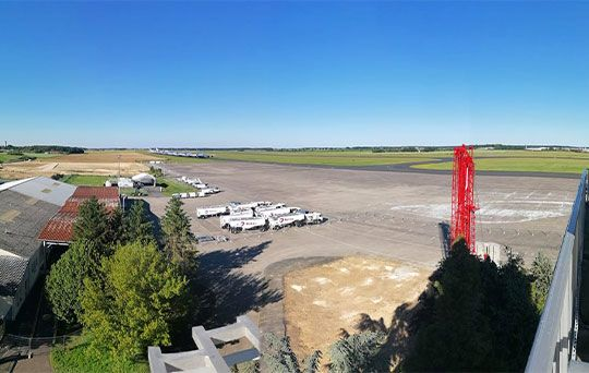 Aéroport de Châteauroux - Tour de contrôle - SARL P.Ducrot