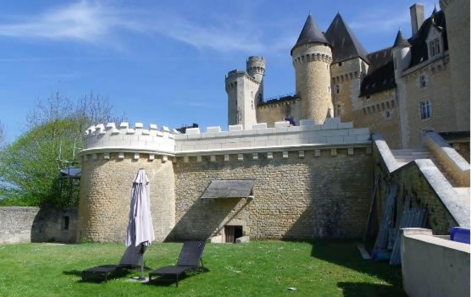 SARL P.Ducrot - Rénovation du château de Chabenet