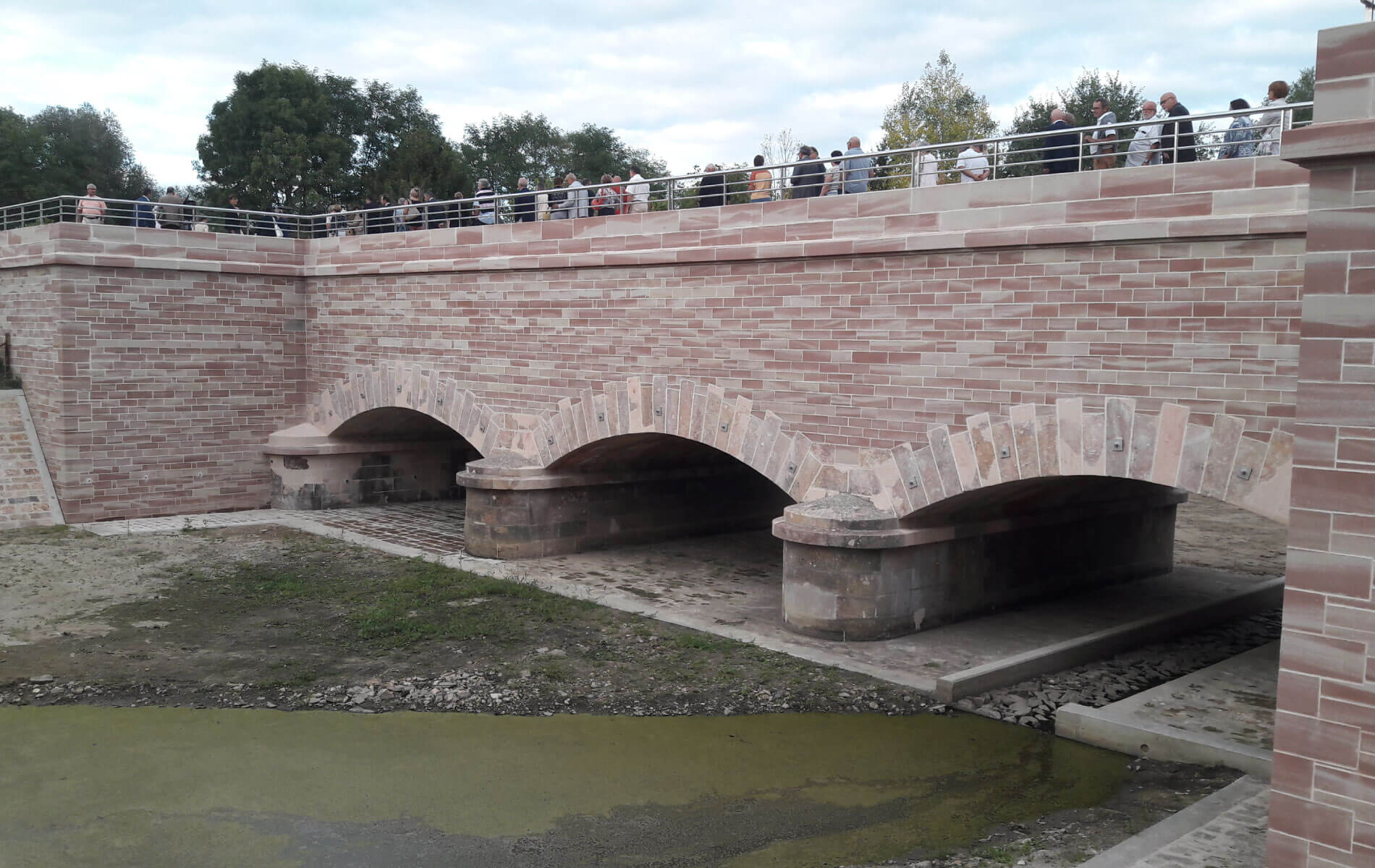 SARL P.Ducrot - Rénovation du Pont Canal de Vaux